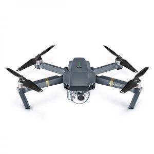 Снимка на дрон с камера Mavic Pro на бял фон
