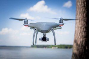 Снимка на дрон с камера - Phantom 4