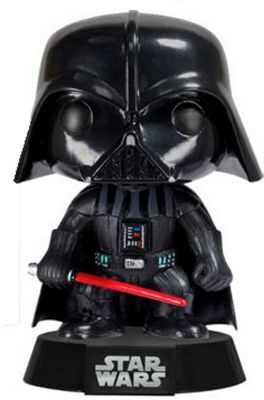 Darth Vader Merchandise - Bobblehead figure with a read lightsaber