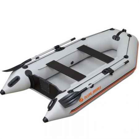 An image of Kolibri KM-280 equipped with two paddles on a white background