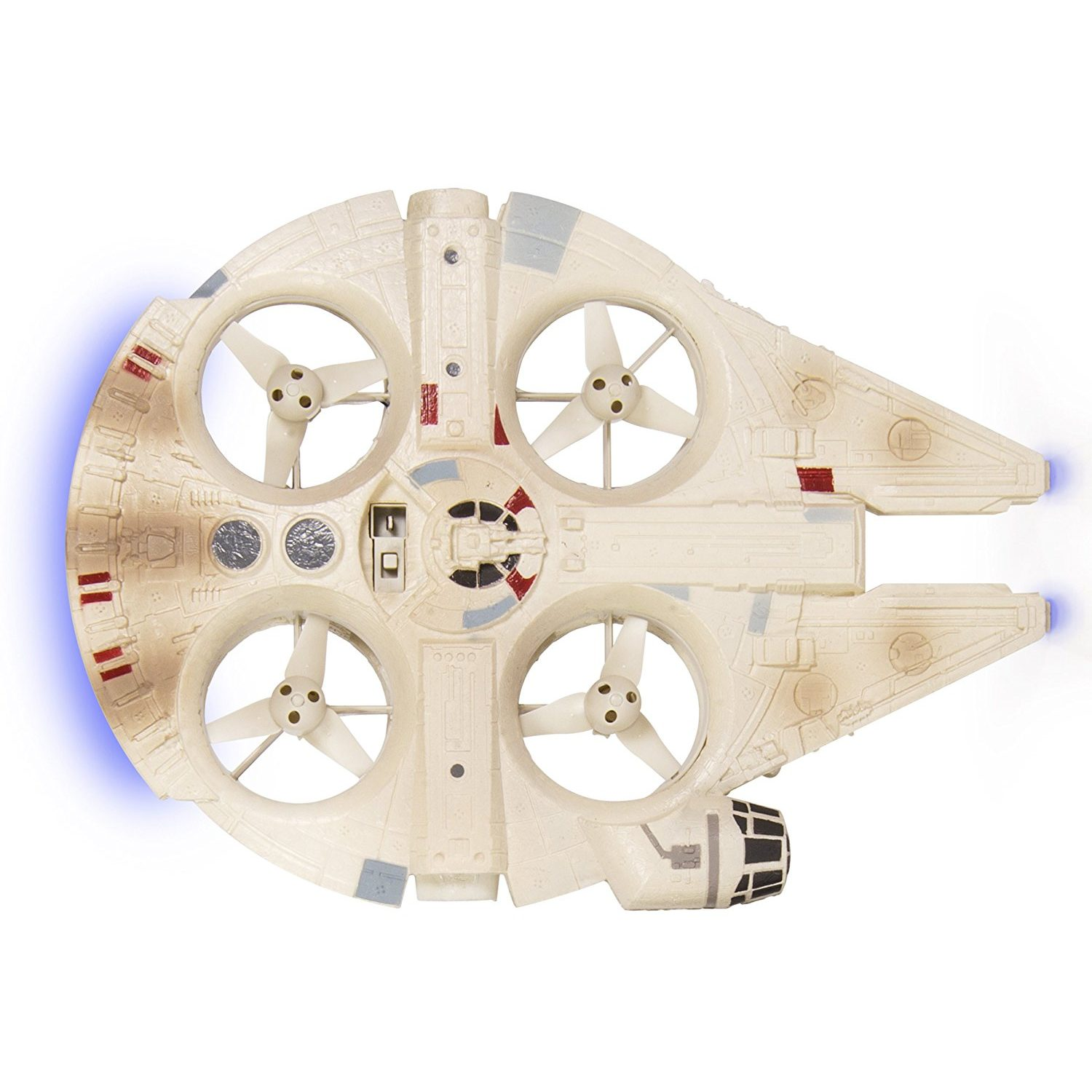 Star Wars Millennium Falcon toy (RTF drone) - photo from above