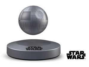 Official Star Wars Merchandise - A floating Death Star Bluetooth Speaker by Plox