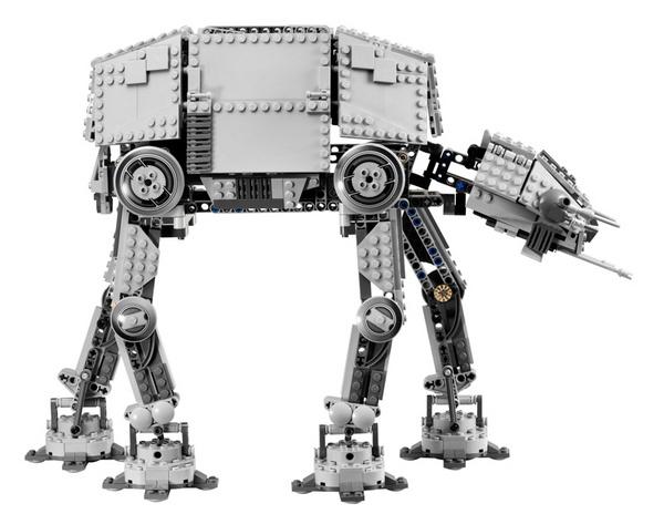 A motorized Star Wars AT-AT LEGO set