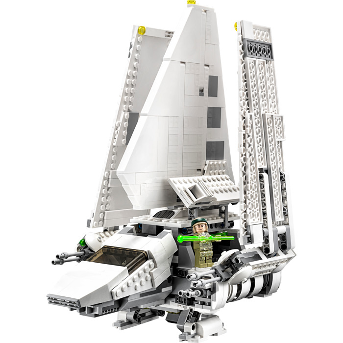 Imperial Shuttle Tydirium - the set on the photo is a budget version