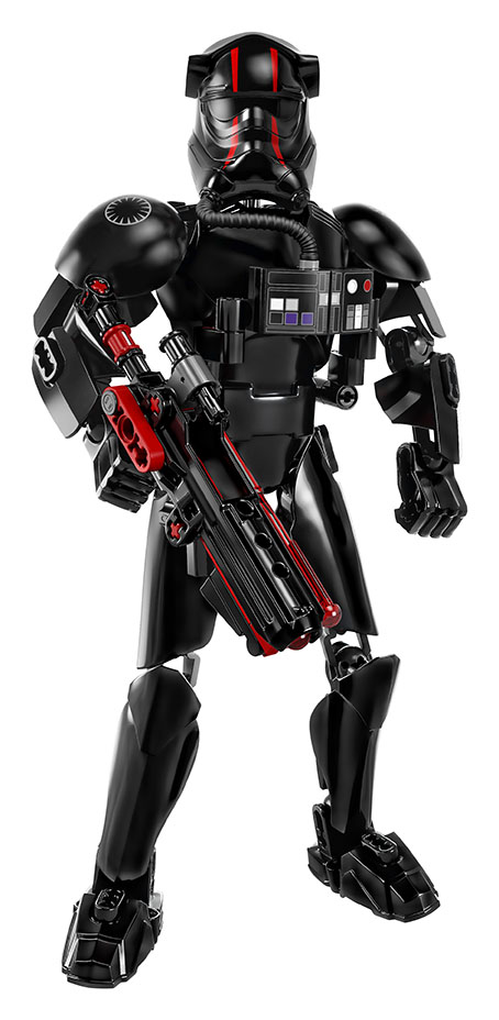 Action figure of an Elite Tie Fighter Pilot