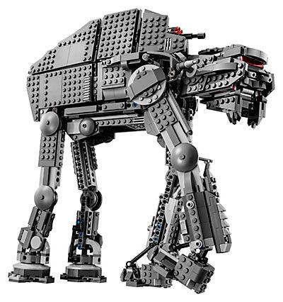 Side shot of the First Order Assault Walker LEGO Set