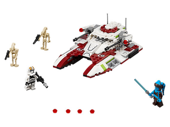 Танк на Републиката - Лего сет с включени мини фигурки