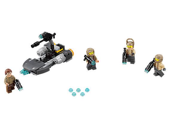 Боен Стар Упрс Лего Пакет - Бунтовници