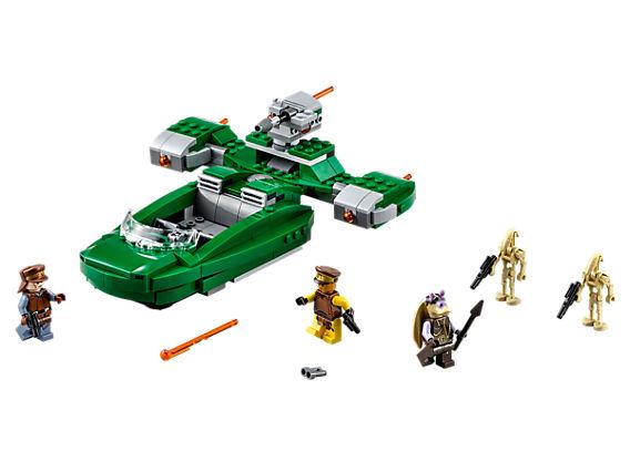 Лего конструктор - Флаш Спийдър, заедно с мини фигурките в сета