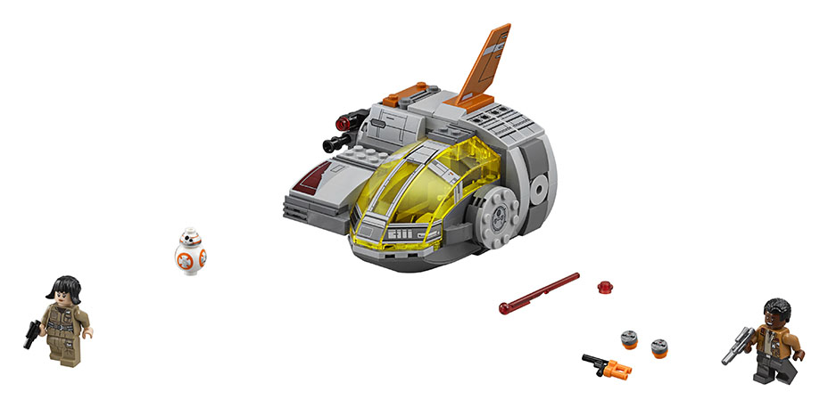 An image of the 2017 LEGO Resistance Pod set