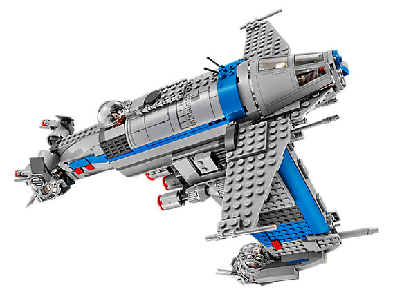 A photo of the new LEGO REsistance kit