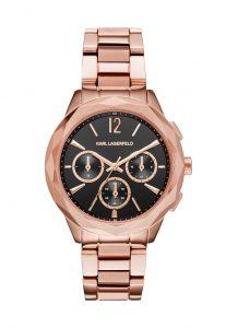 Снимка на розов дамски часовник Karl Lagerfeld
