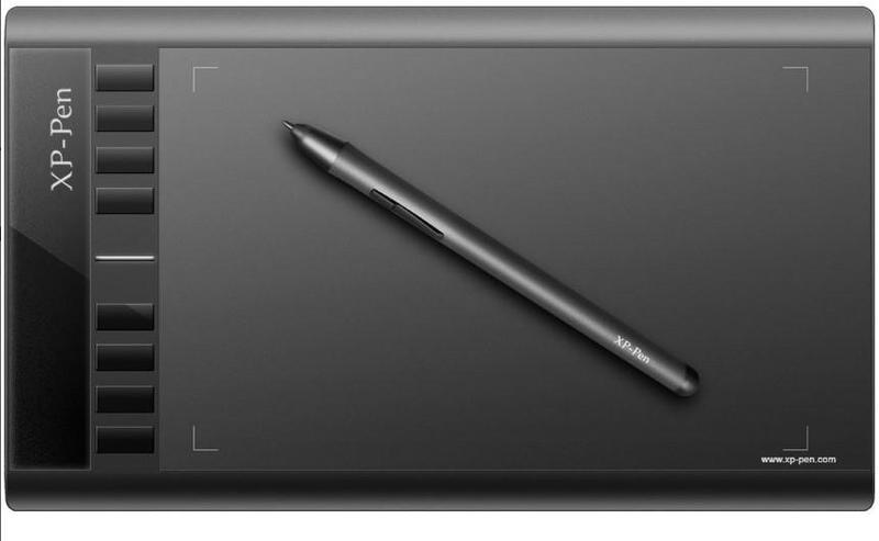 Снимка на таблет за рисуване Ugee M708