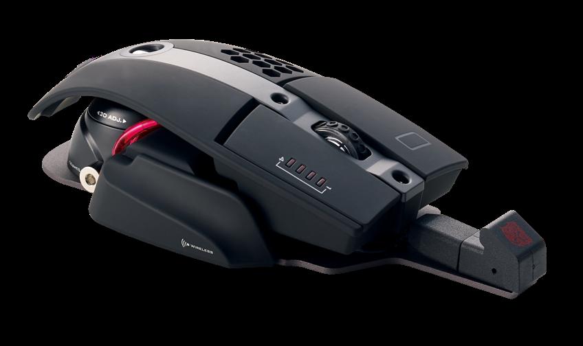 Футуристична геймърска мишка Thermaltake Tt Sports Level 10M с рог и опция за безжична и жична връзка