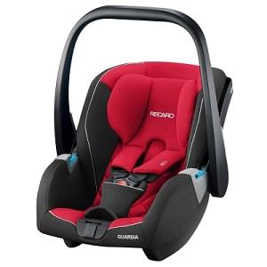 Червено бебешко столче за кола Recaro Guardia