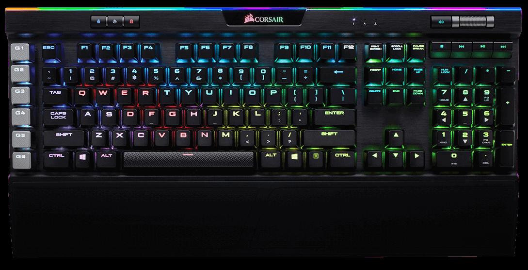 Гейминг клавиатура Corsair K95 RGB Platinum
