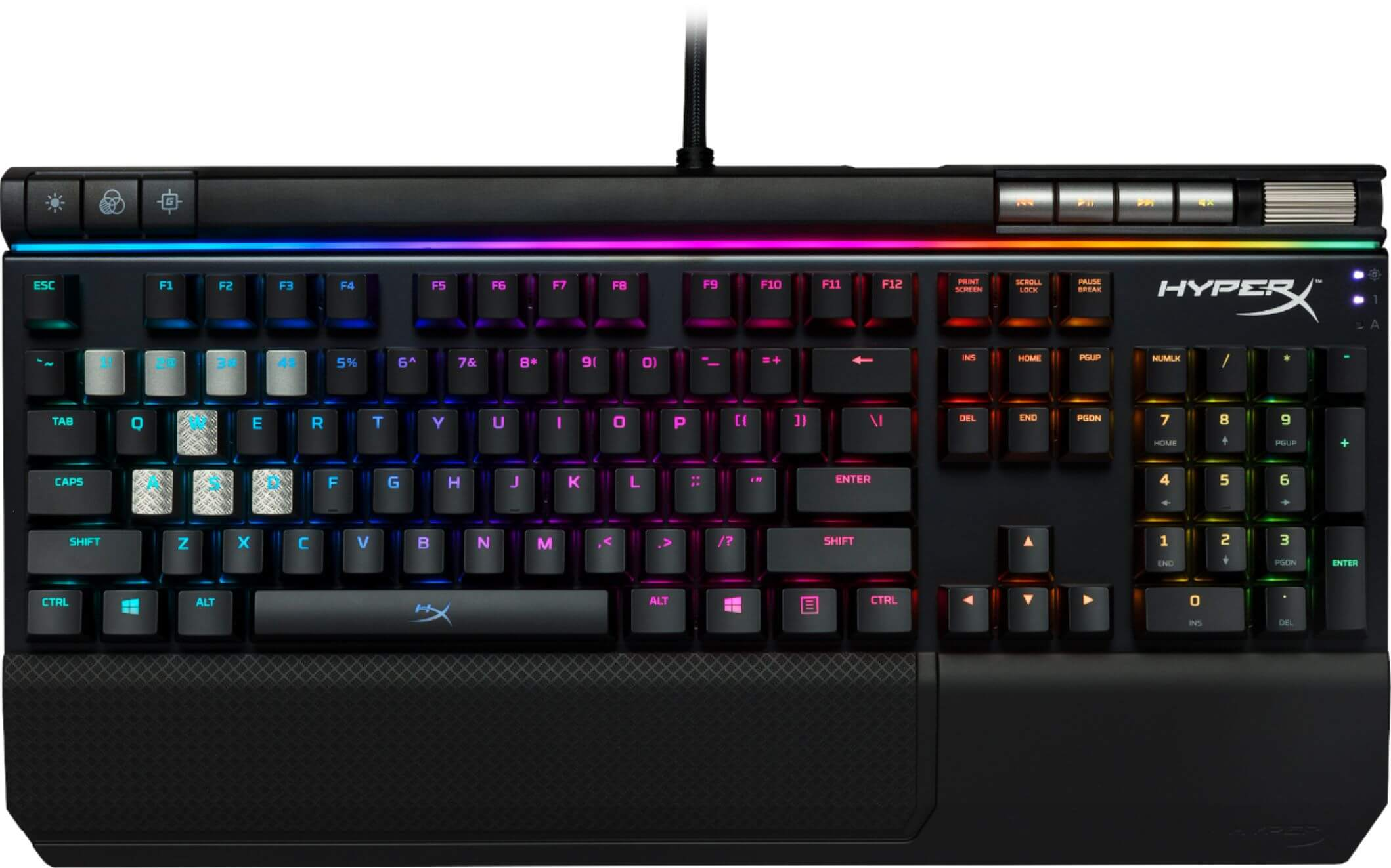 Геймърска клавиатура HyperX Alloy Elite (RGB)
