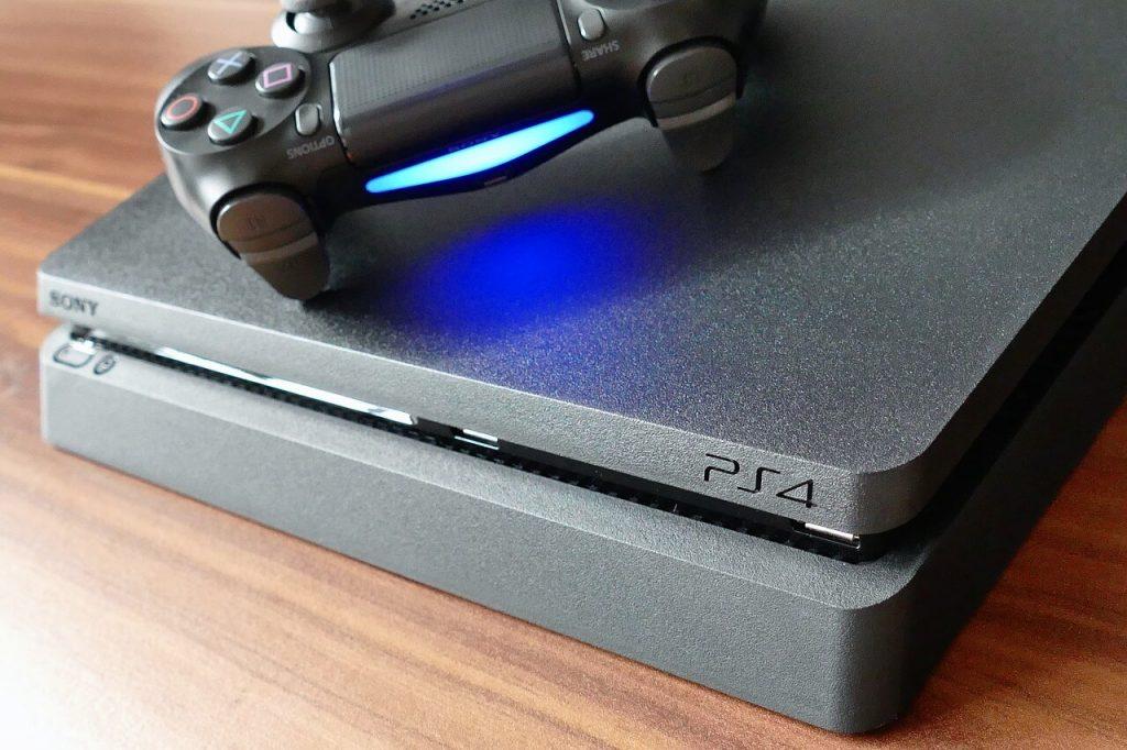 Игрова конзола PlayStation 4 Pro с контролер