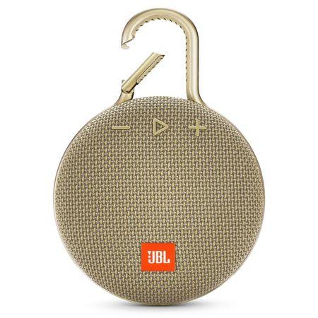 Портативна Блутут колонка JBL Clip 3 - златна