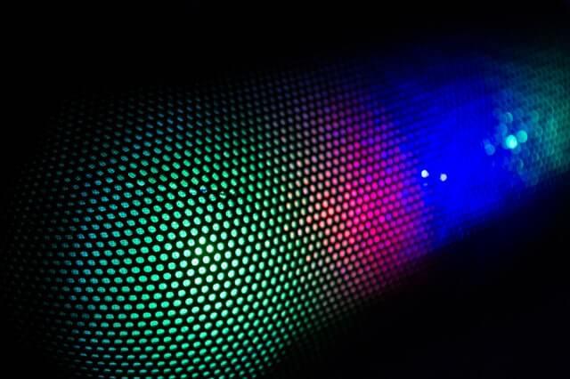 RGB мембрана на безжична тонколонка