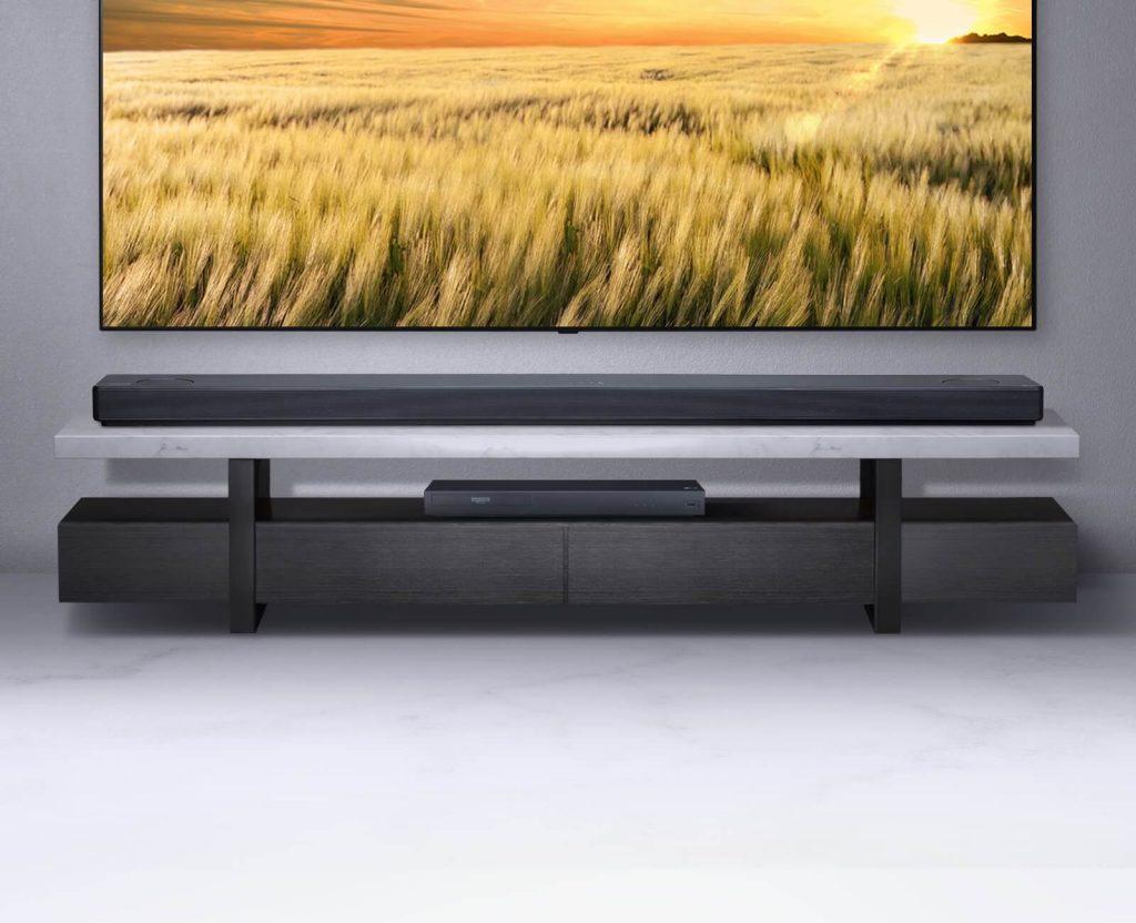 Саундбар система LG с телевизор LG