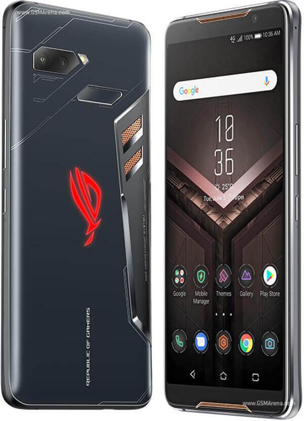 Телефон за игри Asus ROG Phone - дисплей и гръб