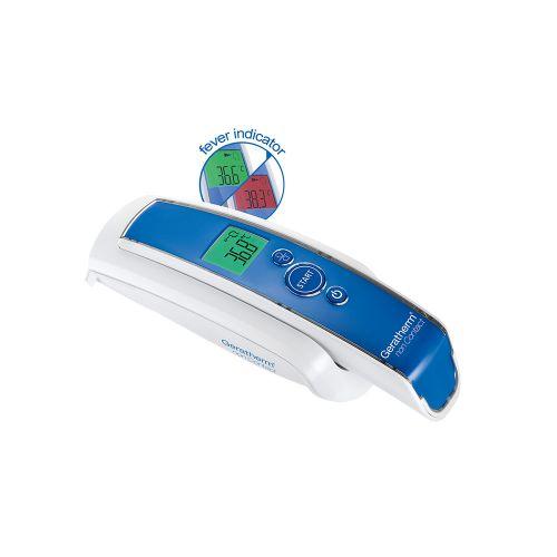 Снимка на син безконтактен термометър GERATHERM NON CONTACT