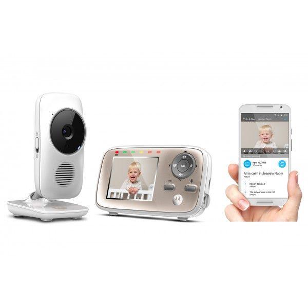 Видео бебефон Моторола - камера и родителско устройство със смартфон