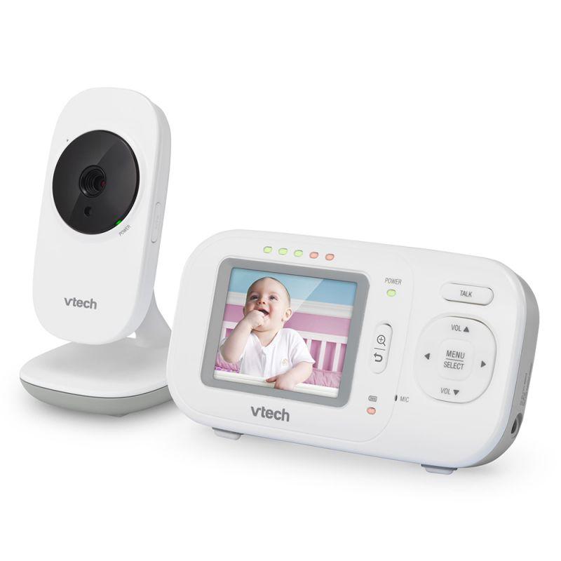 Бяла камера и родителско устройство Vtech Classic SafeSound