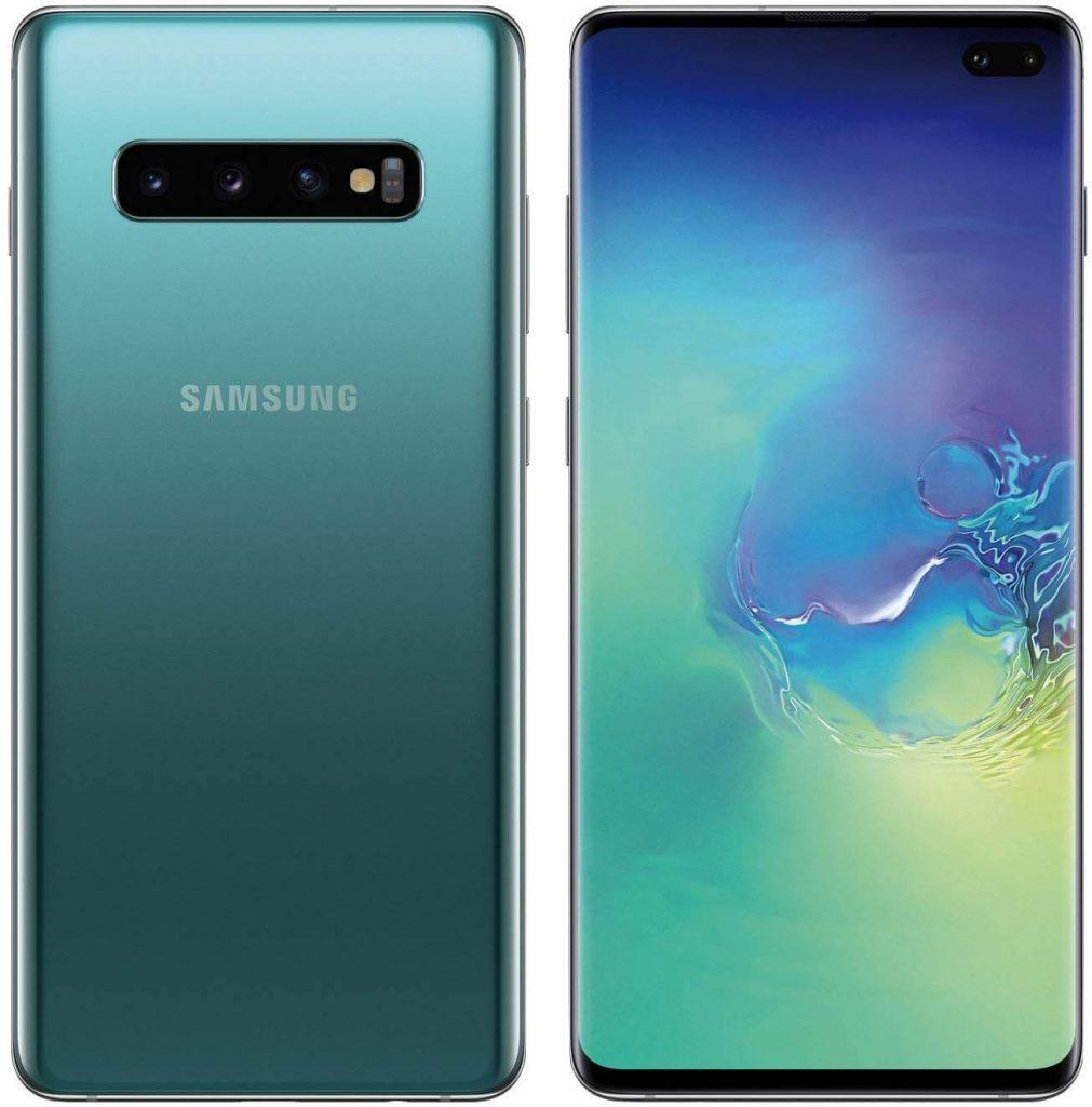 Гейминг смартфон Samsung Galaxy S10 - гръб и дисплей