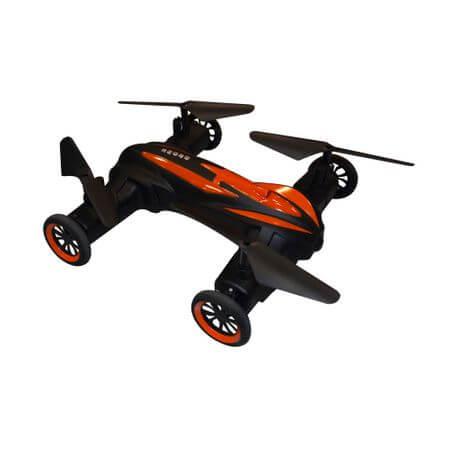 Дрон за деца LH-X21 с оранжево-черен корпус